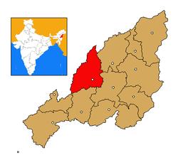 Nagaland Wokha district map.png
