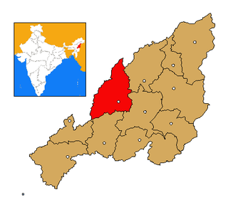 Wokha district District in Nagaland, India