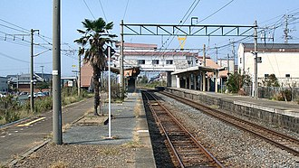 Nagasu Station - Image: Nagasu Station 2