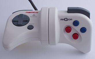 NeGcon - Image: Namco Negcon twisted