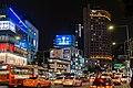 Namdaemun-ro and Aloft Seoul Myeongdong by night.jpg