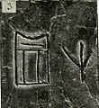 Narmer inscription on vessel from Tura, tomb 19.g.1.jpg