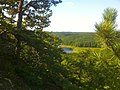 Narragansett Trail's Lantern Hill view of Lantern Hill Pond.jpg