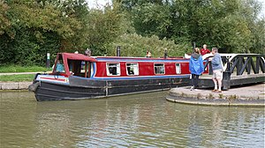 Narrow Boat at Foxton Locks - Flickr - mick - Lumix(1).jpg