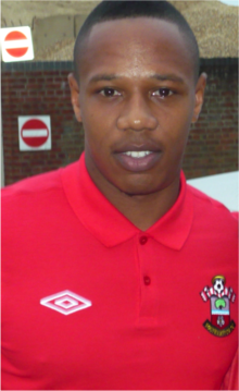 Nathaniel Clyne Southampton FC Manchester United 2012,13.png