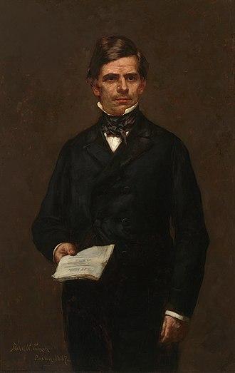 1856 Republican National Convention - Image: Nathaniel P. Banks portrait