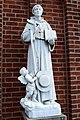 National Shrine of St. Anthony and Friary (Cincinnati, Ohio) - St. Bonaventure statue.jpg