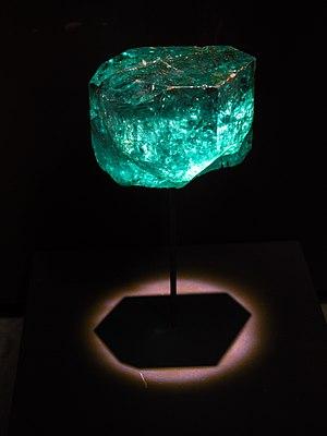 Gachalá - Image: Natural History Museum Gachala Emerald