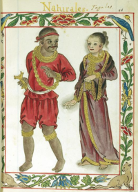 The image of a Maharlika class of the Philippine Society, depicted in Boxer Codex that the Gold used as a form of Jewelry (ca.1400). Naturales 4.png