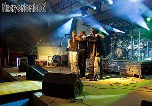 Necronomicon (band) - Image: Necronomicon @ Aggressive Music Fest 2013 in Czech Republic