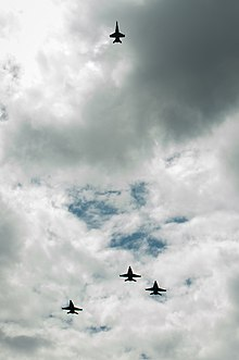 US Navy F A 18 Jets Fly Missing Man Formation At Memorial Service For Astronaut Neil Armstrong On 31 August 2012