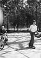 Neil and Jeb Bush on Skateboard circa March 1965.jpg
