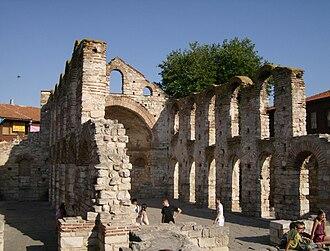 Hagia Sophia Church, Nesebar - Image: Nesevar Iz 8