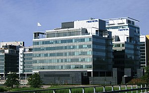 Neste - Neste headquarters in Espoo.