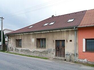 Karel Komzák I - Komzák's family home in Netěchovice