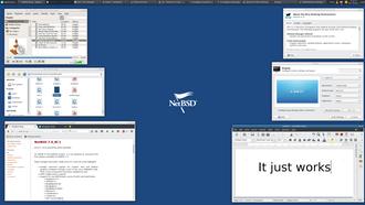 NetBSD - Image: Net BSD desktop