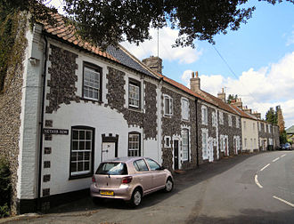 Walmington-on-Sea - Several episodes were filmed in Thetford's Nether Row