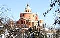 Neve sul Santuario della Beata Vergine di San Luca sul Colle della Guardia - panoramio.jpg