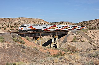 New Mexico Rail Runner Express Commuter rail system in central New Mexico, United States
