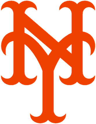 History of the New York Giants (baseball) - 1948–1957. The same logo was later used by the New York Mets.