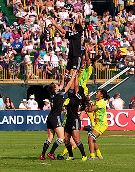 New Zealand Women S National Rugby Sevens Team Wikipedia