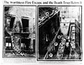 Newspaper photographs of the Asch Building's exterior after the Triangle fire (5279749194).jpg