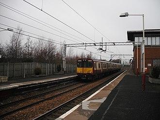 Newton railway station - Image: Newton station 2011