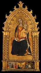 The Virgin and Child; Charity of Saint Nicholas; Crucifixion; Christ and the Samarian Woman
