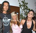 Nick Manning, Kristal Summers, Stephanie Swift at Sexxxpose Party 1.jpg