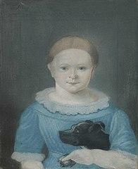 Portrait of Christiane (Kitty) Petrine Halling