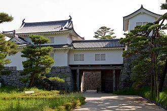 Nihonmatsu Castle - Reconstructed Main Gate of Nihonmatsu Castle