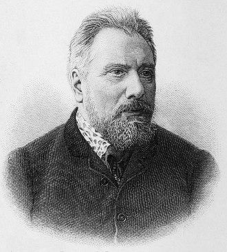 Nikolai Leskov - Engraving of Leskov