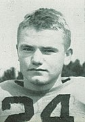A picture of Nile Kinnick posing.