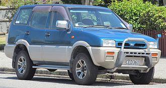 Nissan Terrano II - Nissan Mistral LWB (Japan)