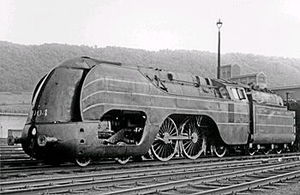 4-4-2 (locomotive) - SNCB Class 12 No. 12004, c. 1940