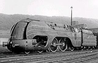 SNCB Type 12 class of 6 Belgian 4-4-2 locomotives