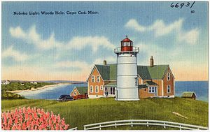Nobska Light - Image: Nobska Light, Woods Hole, Cape Cod, Mass (66931)