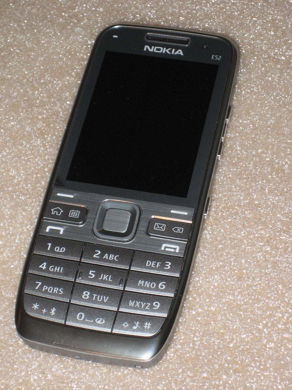 Nokia e52 прошивка скачать