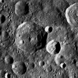 Dante (crater) - Image: Normal Dante LROC
