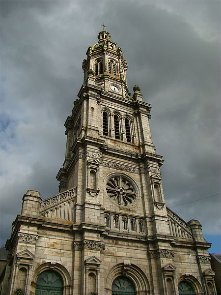 Basilique Saint-Gervais, Avranches, Manche, Normandie, France.