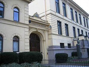 The Nobel Institute in Oslo, Norway.