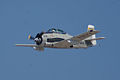 North American T-28C Trojan Sherry Berry Enemy Forces Suppression Pass 03 TICO 13March2010 (14412866720).jpg