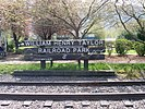 North Bend, WA — William Henry Taylor Park sign (2008-04-26).jpg