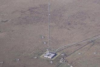 North Hessary Tor transmitting station - Image: North Hessary Tor transmitting station