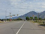 North at US-89 & SR-147 (W 1600 South) in Mapleton, Utah, Apr 16.jpg