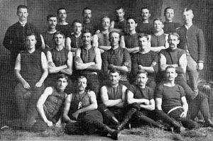 1888 SAFA season - 12th SAFA season Pictured above is the 1888 Norwood Championship of Australia team.