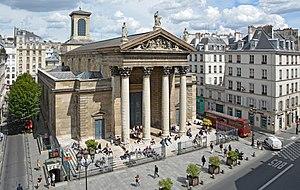 Notre-Dame-de-Lorette, Paris - South facade, Church of Notre-Dame-de-Lorette