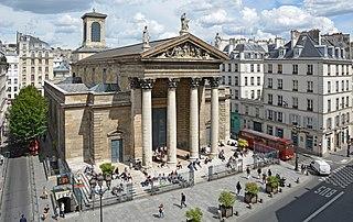 Notre-Dame-de-Lorette, Paris church located in Paris, in France