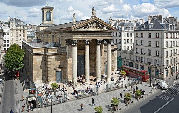 Notre-Dame-de-Lorette, Церкви Парижа, достопримечательности Парижа, Париж, путеводитель по Парижу, что посмотреть в Париже