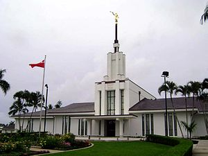 Religion in Tonga - LDS Tonga Temple